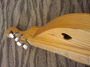 Galax Dulcimer - Top Detail